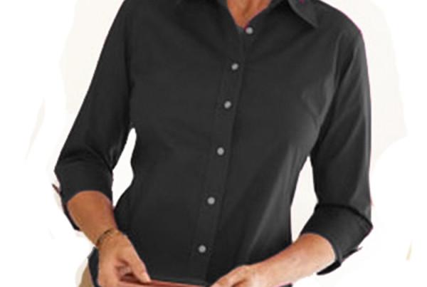 Camisa feminina manga 3-4