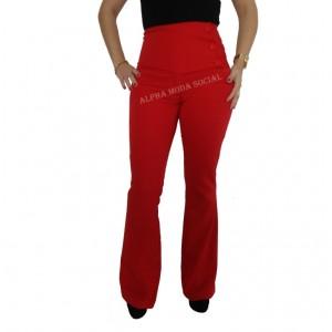 calça-flare-vermelha-social-feminina