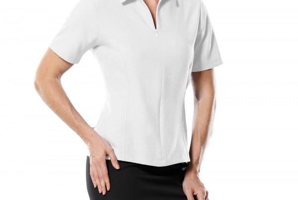 camisa-feminina-manga-curta-com-ziper-branca