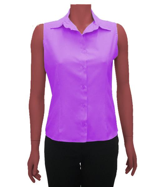 89197ac2de928 Camisa feminina regata - Alpha Moda Branca e Uniformes