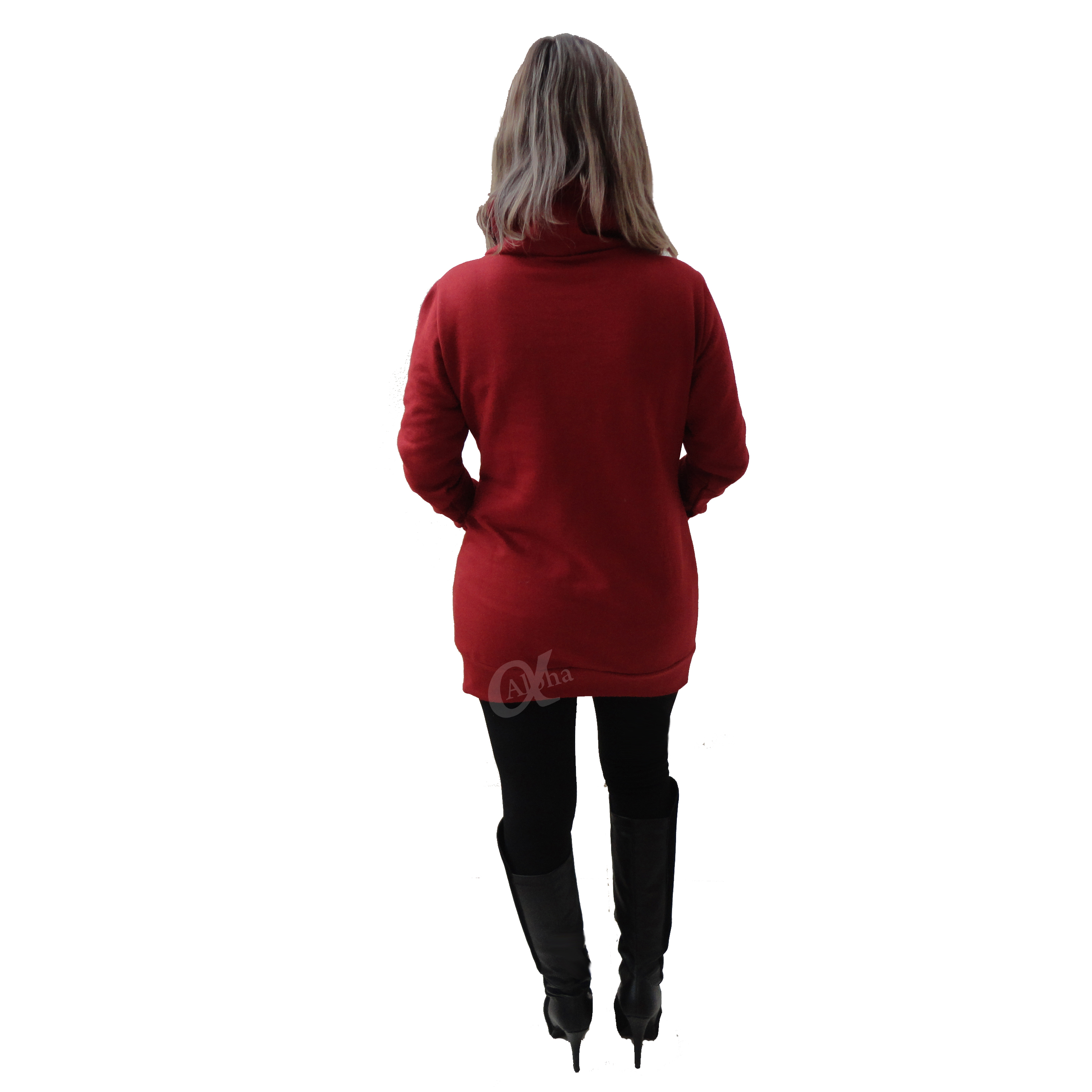 Blusa de moletom feminina over size alpha moda social 5