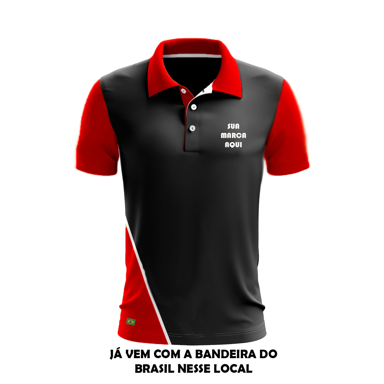 Camisas Pólo femininas e masculinas com recortes ecefc101c539b